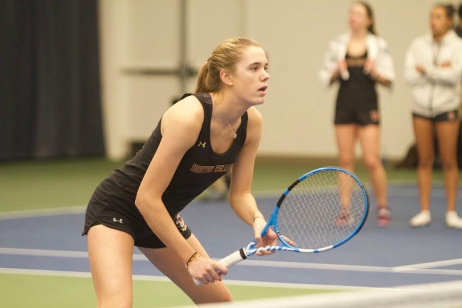 Duke Sweeps Women's Tennis 4-0
