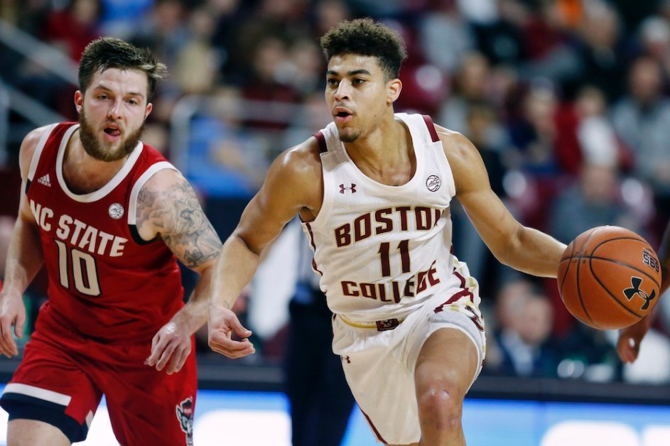 BC Escapes With Narrow Victory Over NC State