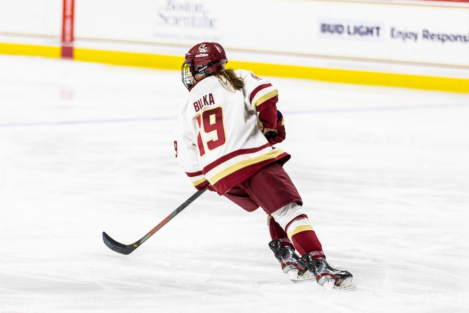 Eagles Head to OT Again But Fall to Maine, Split Weekend Series