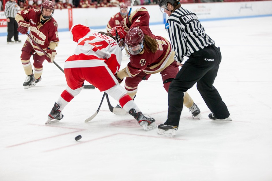Eagles Couldn't Capitalize on Chances, Shutout by BU in Beanpot Semifinals