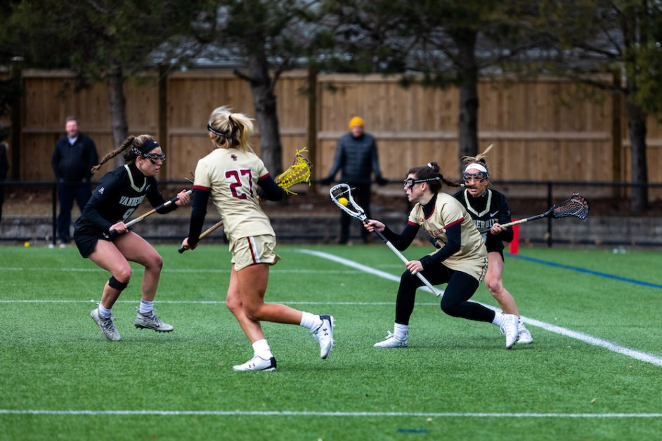 Lacrosse Drops First ACC Contest of the Year to Notre Dame