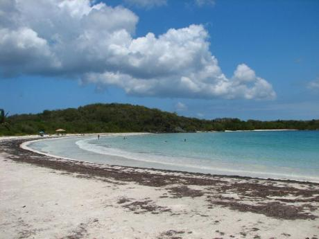 Image result for playa plata vieques