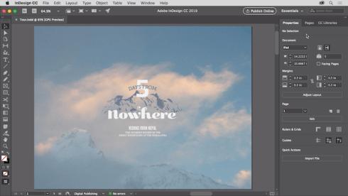 Adobe Indesign - Graphic Design Program
