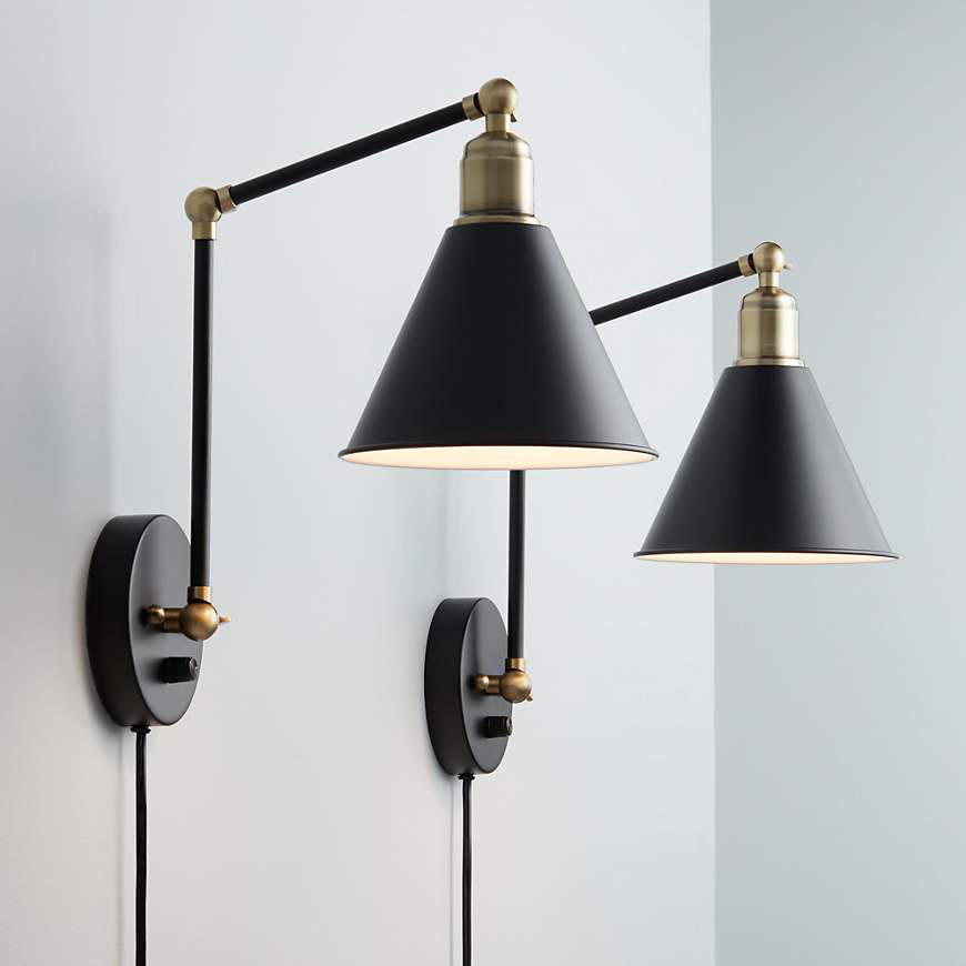 The Best Plug-in Sconces (No Electrician Needed ... on Plugin Wall Sconce Lights id=89571
