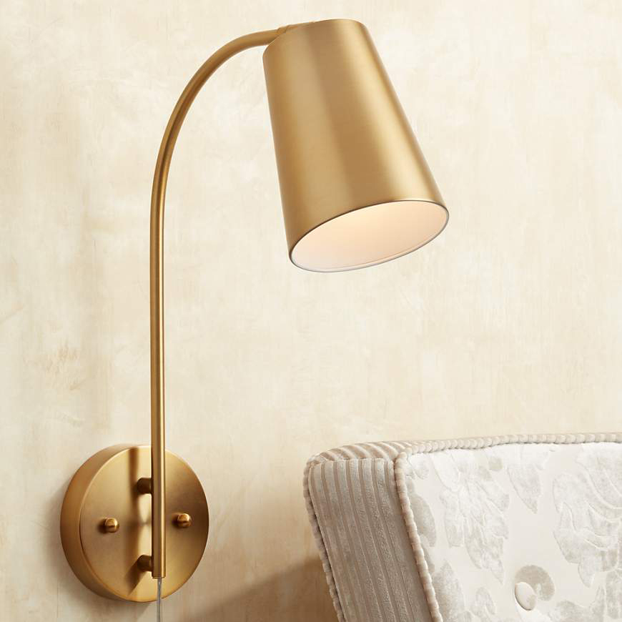 The Best Plug-in Sconces (No Electrician Needed ... on Plugin Wall Sconce Lights id=69934