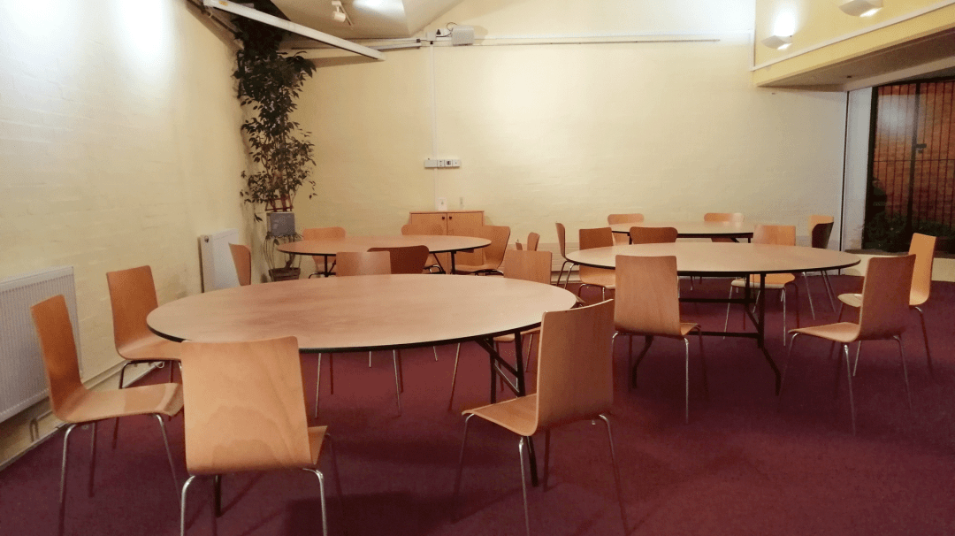 The Hollings Polygon Seating for 40 to 50 people