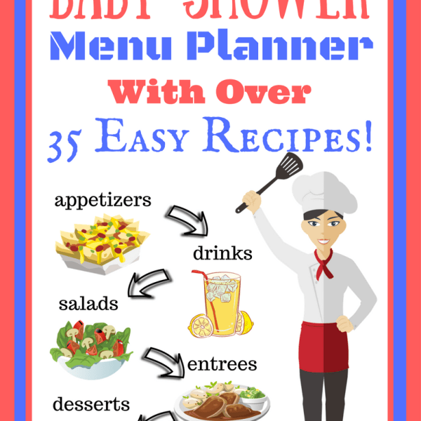 Baby Shower Recipes and Menu Planner