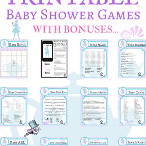 printable baby shower alice in wonderland game