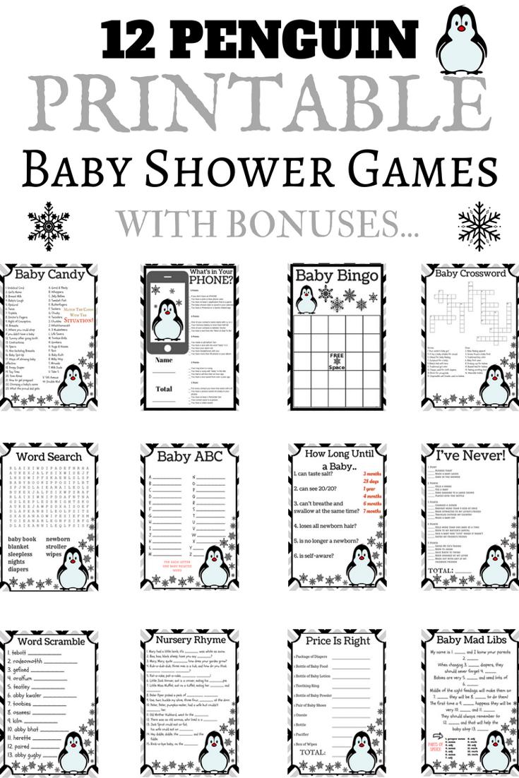 penguin baby shower ideas