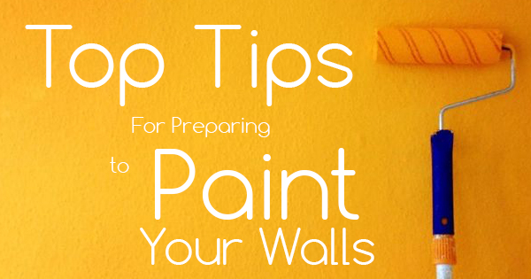 Top Tips For Preparing to Paint Your Walls - ECOS Paint Blog