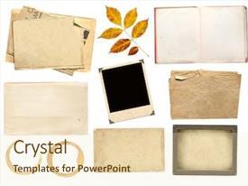 Six beautiful layered scrapbook frames. Scrapbook Powerpoint Templates W Scrapbook Themed Backgrounds