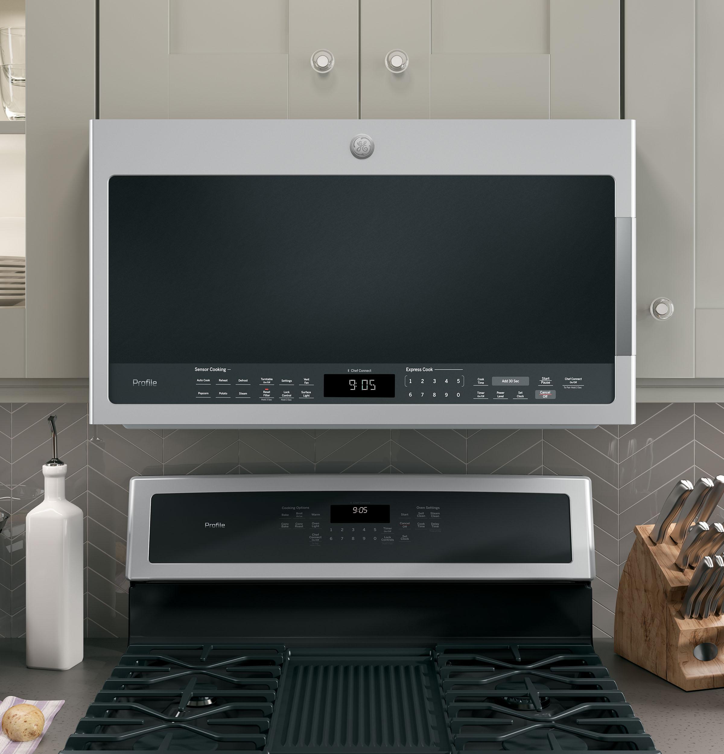 range sensor microwave oven pvm9005sjss