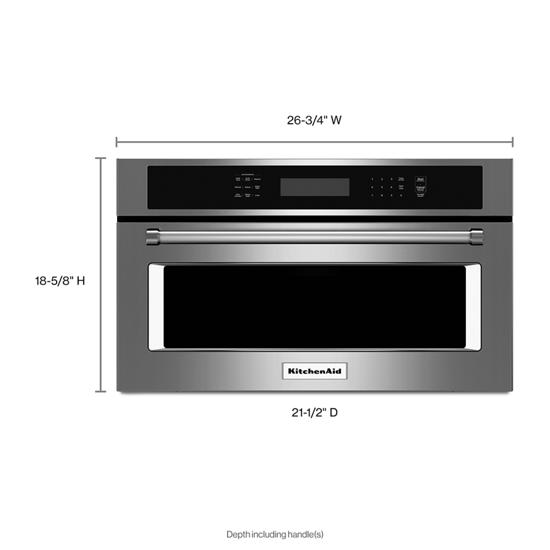 microwave oven with convection cooking