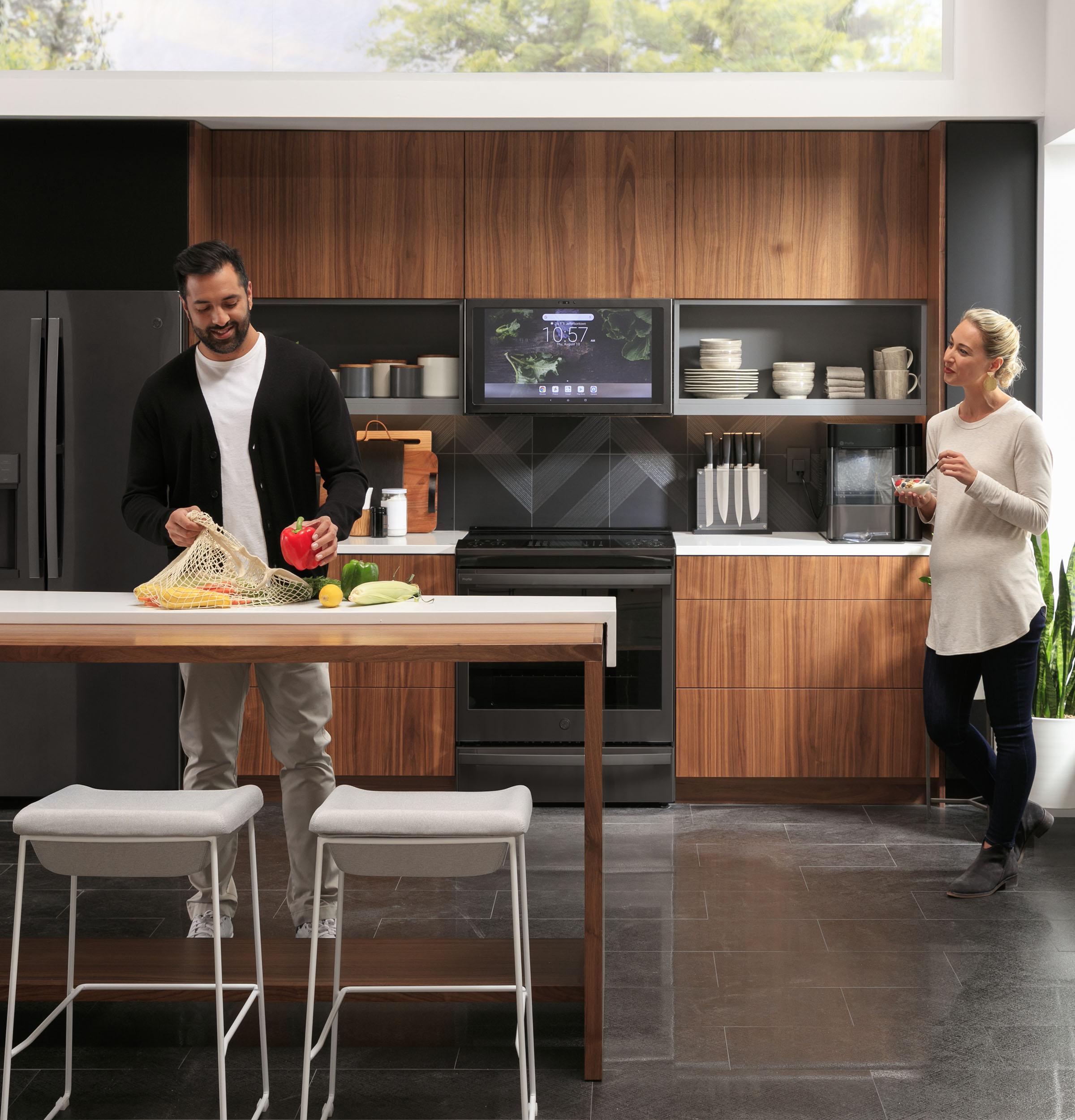 ge profile uvh13013mts kitchen hub
