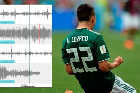 Resultado de imagen para sismo por gol de la selección