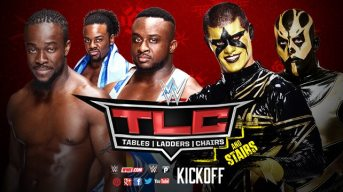TLC 2014 KickOff-New Day vs. Dust Bros.