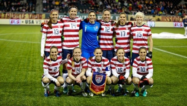 United States Women's National Football Team – USA 3-0 ...