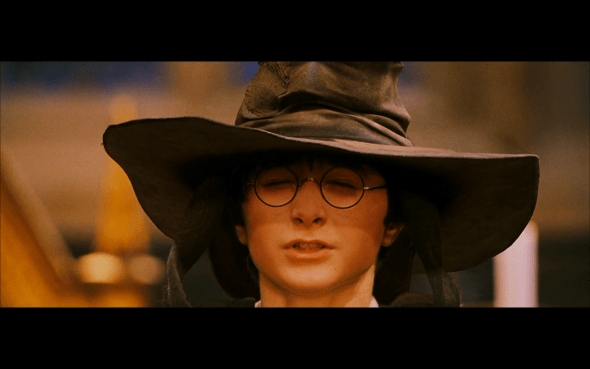 So put me on! Don't be afraid! / And.. – Sorting Hat's Song #1