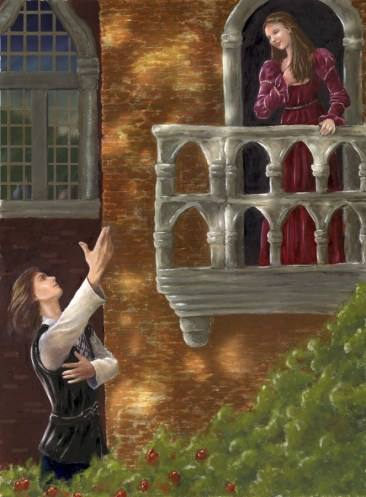 Image result for romeo and juliet balcony scene