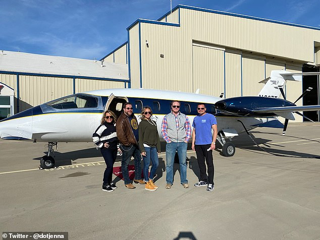 Texas realtor took private jet to storm DC - Real Talk Time