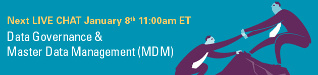 Join the DQ Chat - Data Governance and MDM