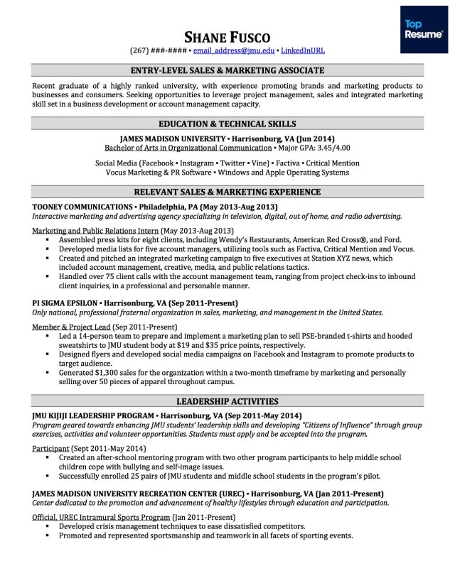 How to Write a Resume With No Experience  TopResume