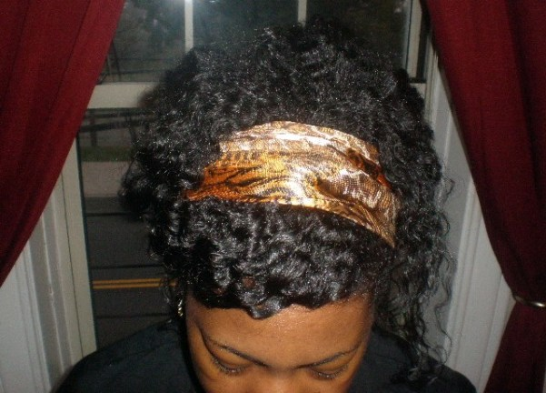 saved twist out