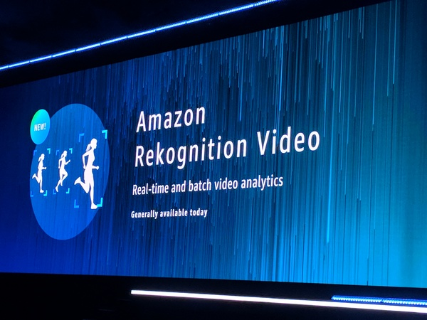Amazon Rekognition Video gives developers access to real-time video analysis