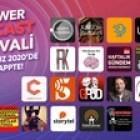 """Türkiye'nin En Büyük Podcast Buluşması: """"Power Podcast Festivali"""" 2. Defa Gerçekleşecek!"""