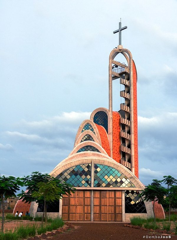 Église de Nianing au Sénégal - Wikimedia CC BY-SA 4.0