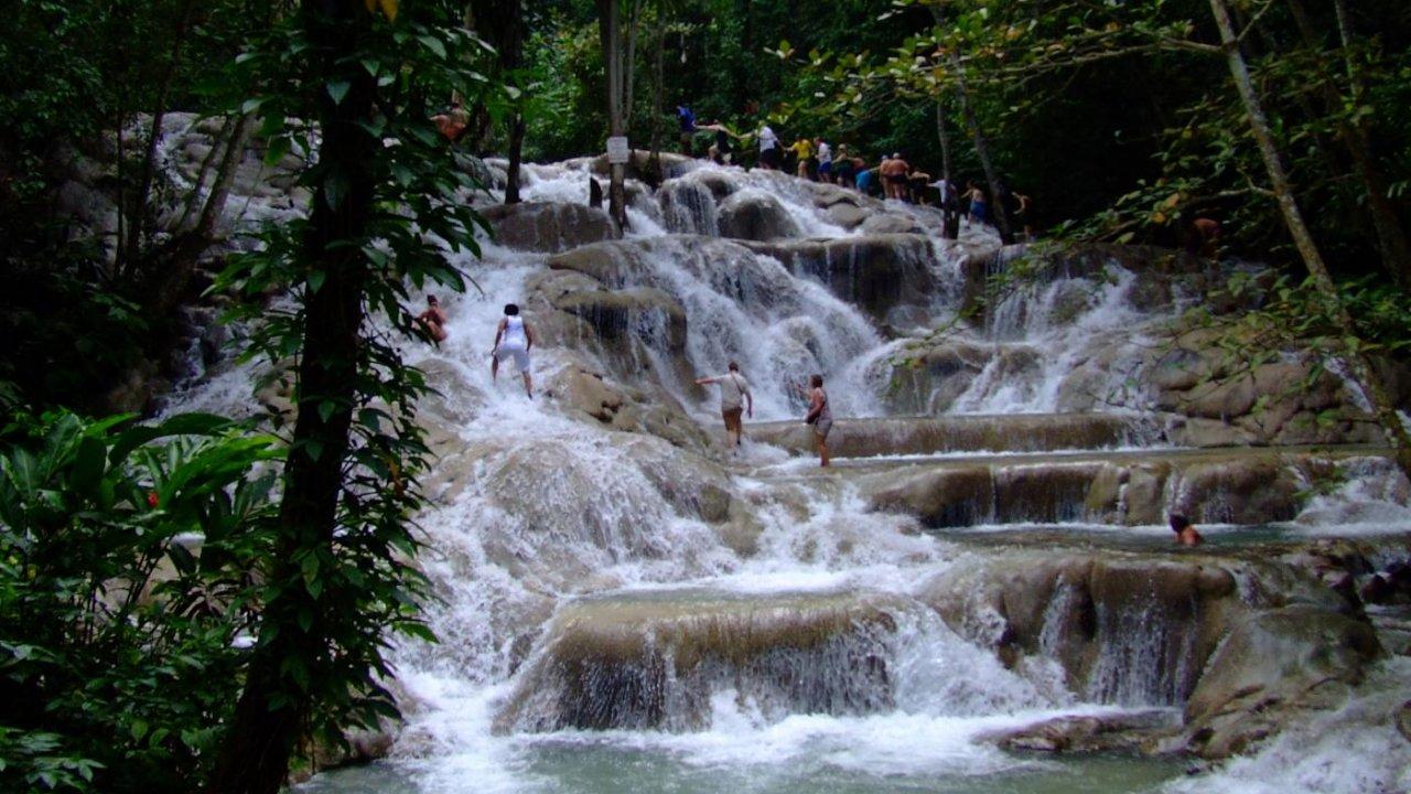 Reggae Hill Dunn S River Transfer Dunn S River Falls