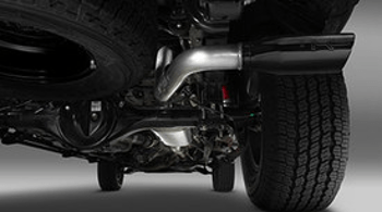 trd pro dual exhaust system muffler kit