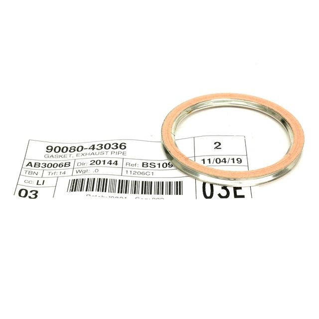 oem new front exhaust pipe gasket fits 2008 2015 scion xb 2010 2019 toyota 4runner 2013 2019 toyota avalon 2002 2019 toyota camry 2007 2014