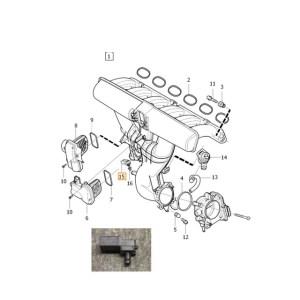 Genuine Volvo Map Sensor 8699339 | eBay