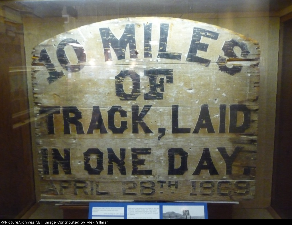 10 Miles Of Track Laid In One Day