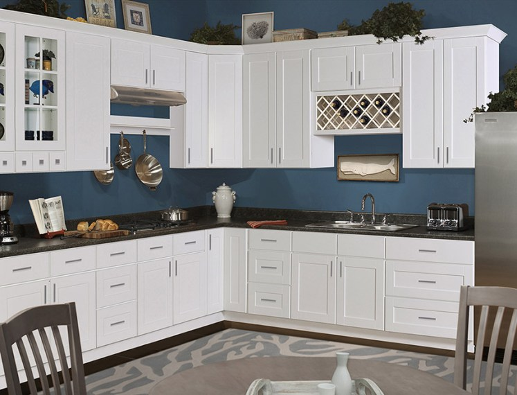 Shaker Hill Kitchen Cabinets   RTA Cabinet Store