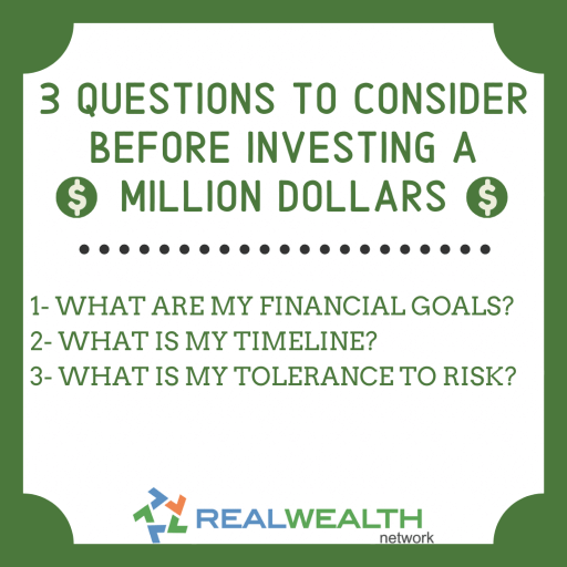 Image Highlighting 3 Questions to Consider Before Investing a Million Dollars