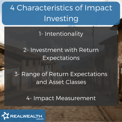 Characteristics of Impact Investing image