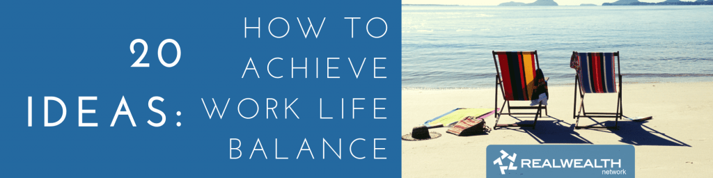 How to Achieve Work Life Balance image