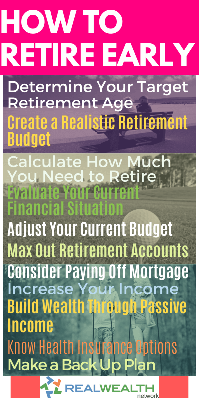Image Highlighting How to Retire Early