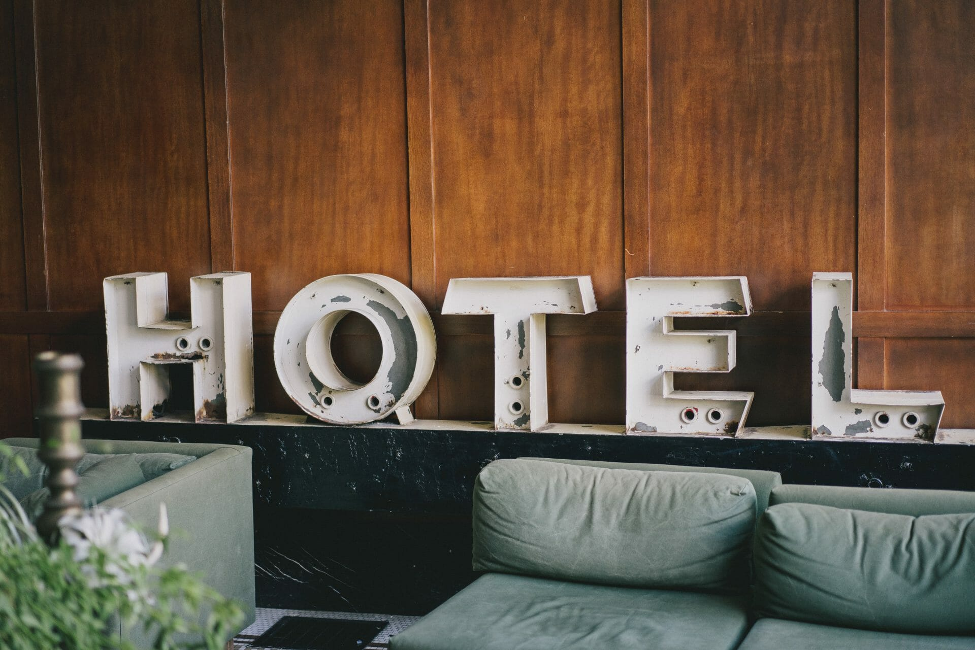 picture of hotel sign for Real Estate News for Investors Podcast Episode #400