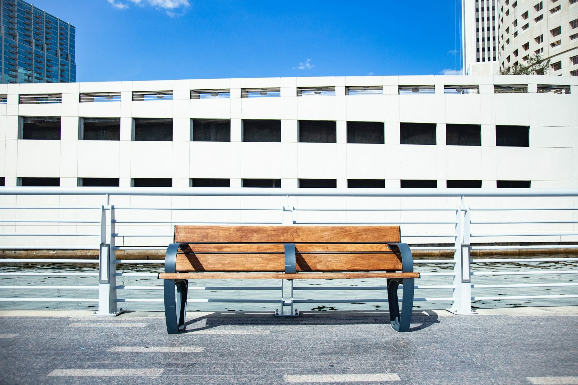 Picture of a Bench In Tampa for Real Estate News for Investors Podcast Episode #635