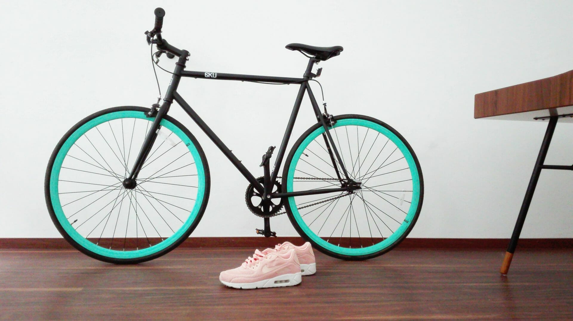 Picture of bike and pink nikes for Real Estate News for Investors Podcast Episode #725