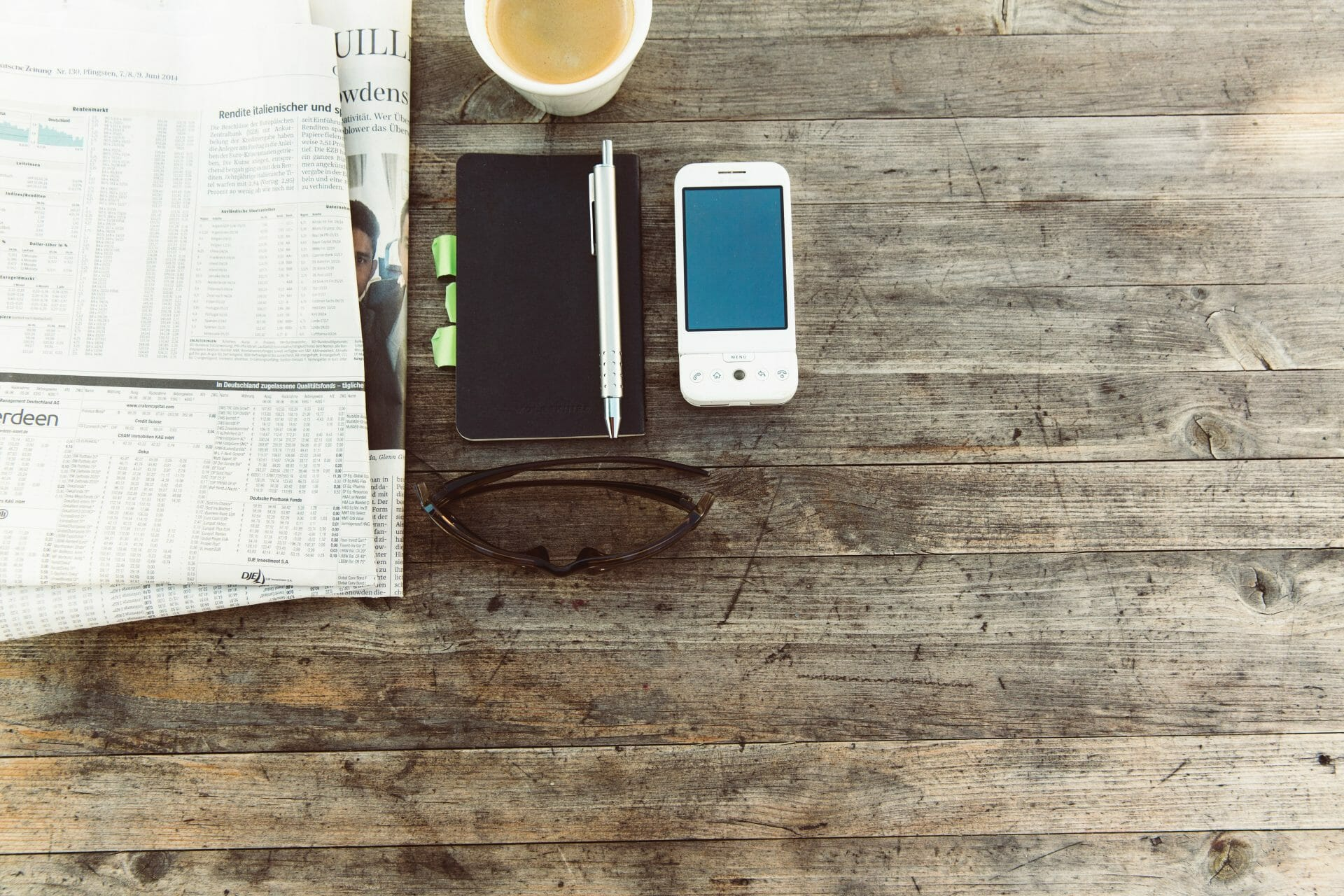 Picture of newspaper and diary for Real Estate News for Investors Podcast Episode #790