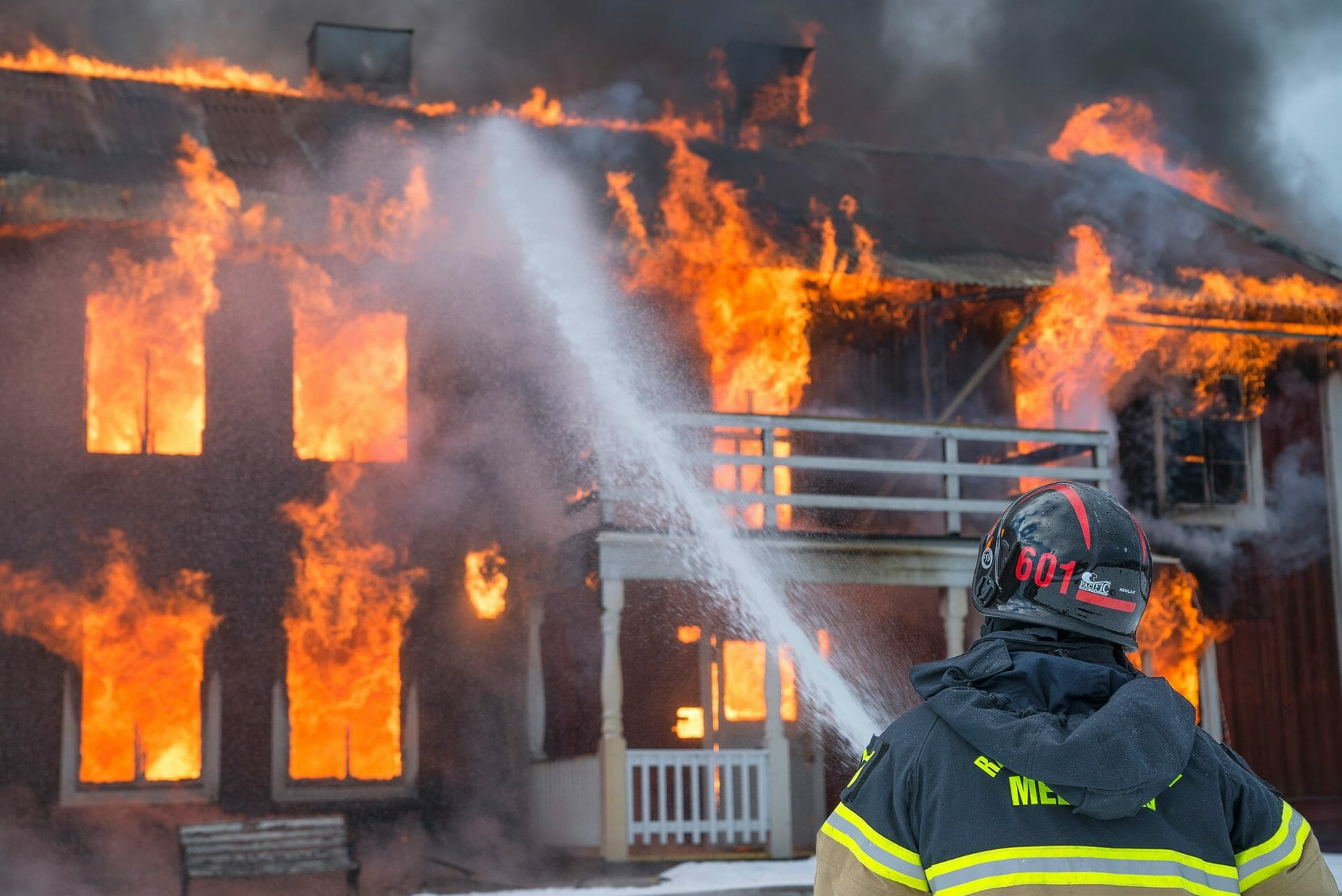 Picture of a House on Fire for Real Estate News for Investors Podcast Episode #814