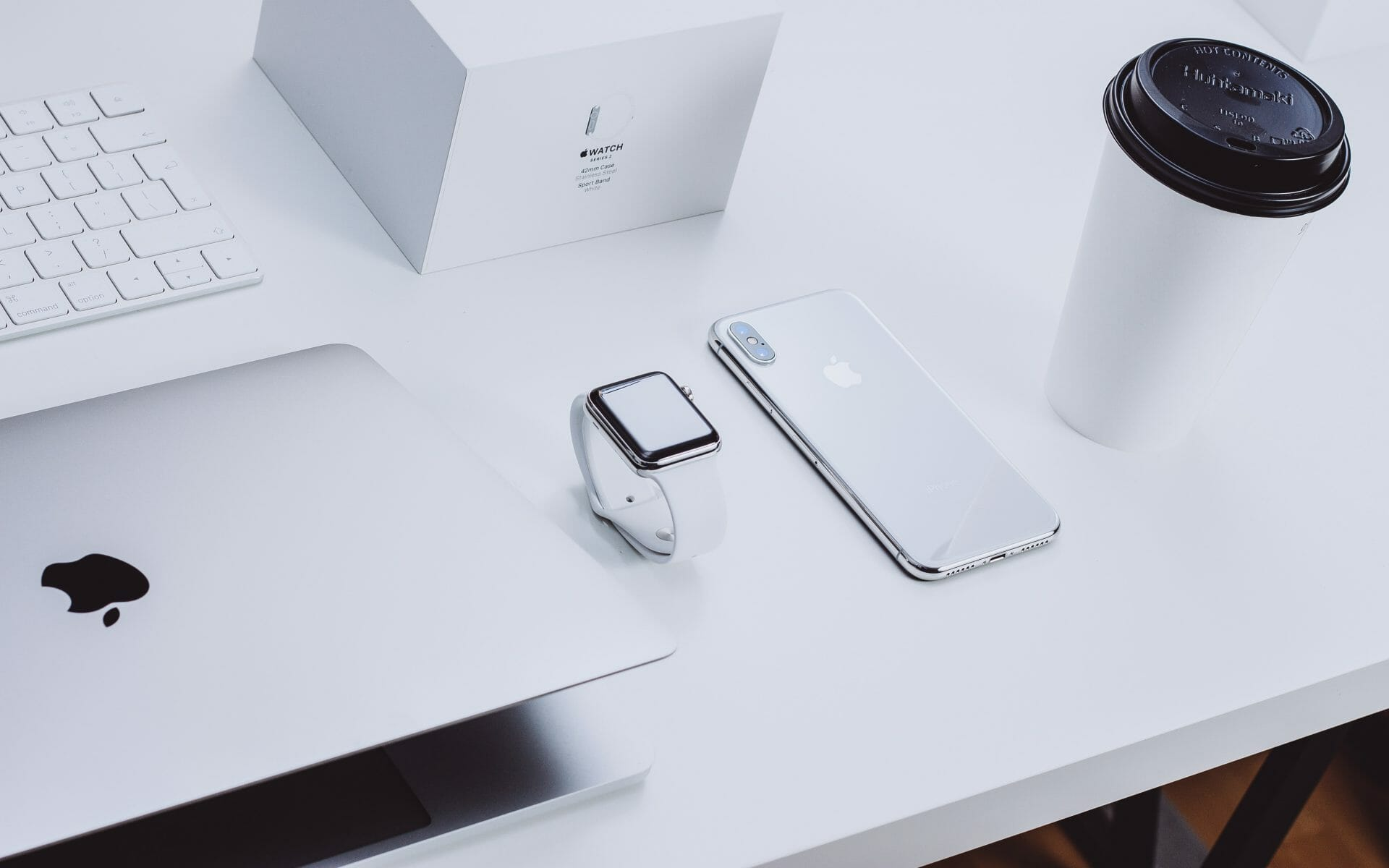 Picture of laptop, apple watch and phone for Real Estate News for Investors Podcast Episode #817