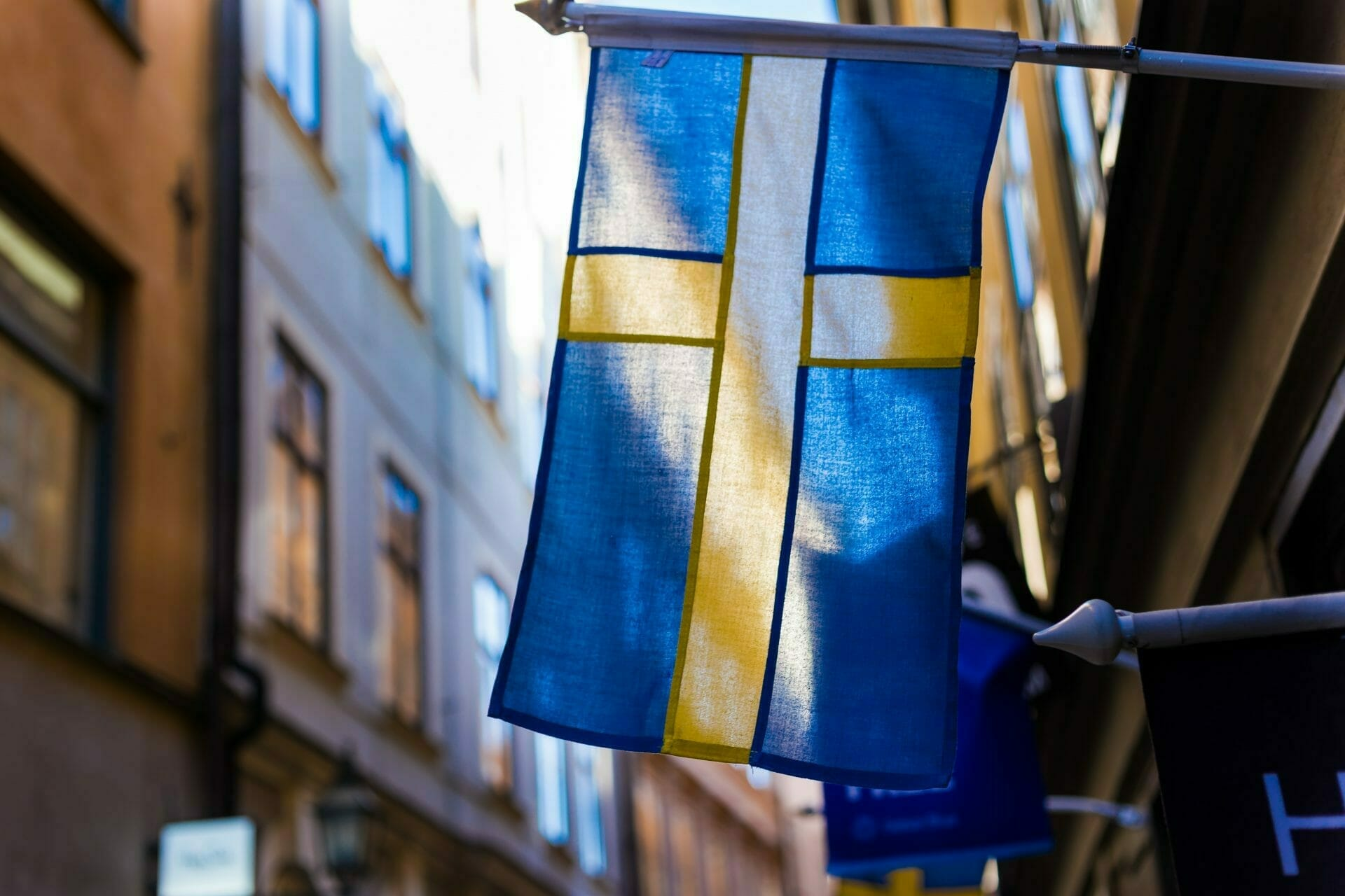 Picture of the Swedish Flag for Real Wealth Show Podcast Episode #704