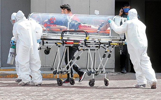 MÉXICO SUPERA LAS 17 MIL MUERTES POR COVID-19 Y MÁS DE 22 MIL CASOS ACTIVOS