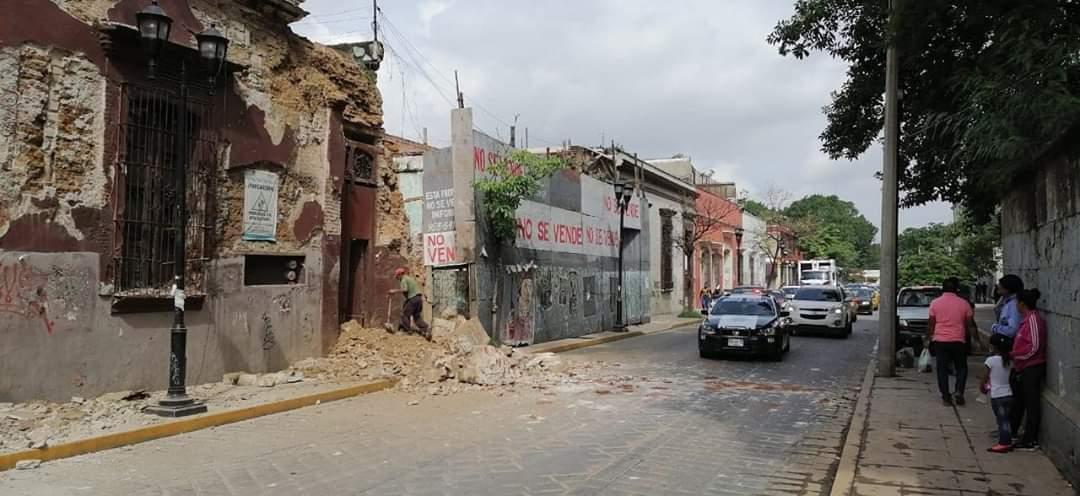 TRAS SISMO, EMITEN DECLARATORIA DE EMERGENCIA EN 72 MUNICIPIOS DE OAXACA