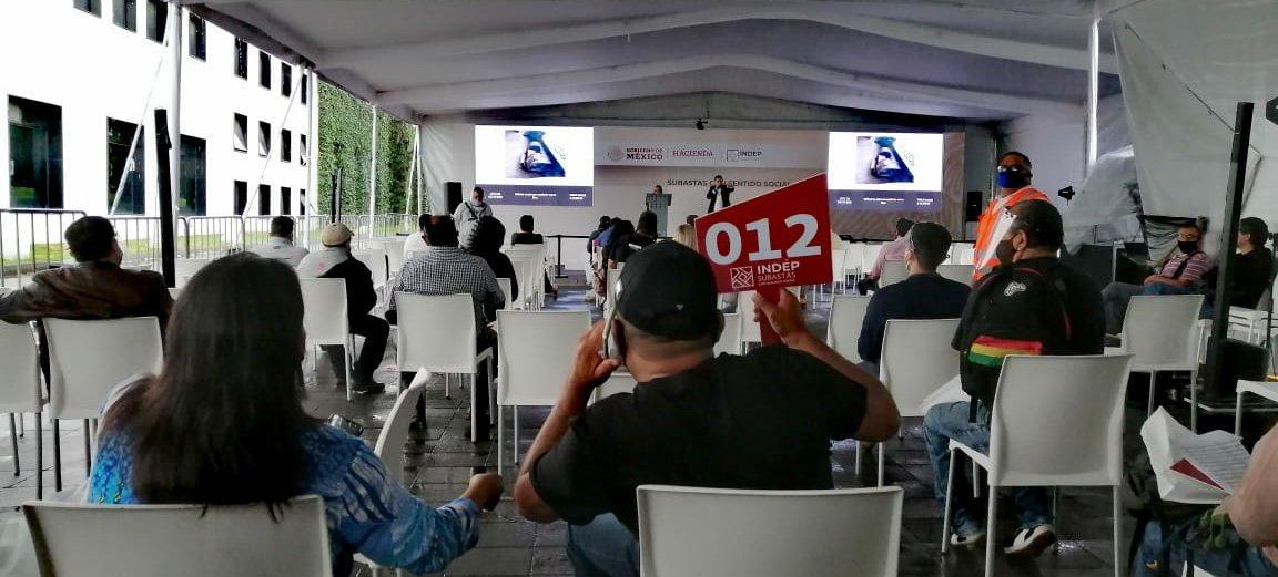 RECAUDA 14 MILLONES DE PESOS SUBASTA DEL INSTITUTO PARA DEVOLVER AL PUEBLO LO ROBADO